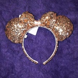 🌸 Rose Gold Mickey Ears 🌸